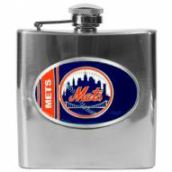 New York Mets MLB 6 Oz. Stainless Steel Hip Flask