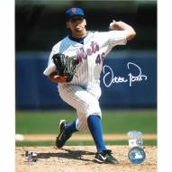 """New York Mets Oliver Perez Home Pitching Signed 16"""" x 20"""" Photo"""