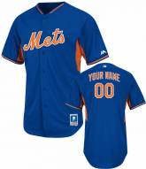 New York Mets Personalized Authentic Batting Practice Baseball Jersey