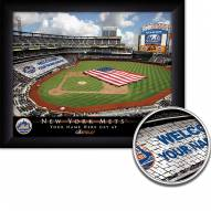 New York Mets Personalized Framed Stadium Print