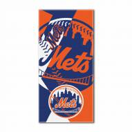 New York Mets Puzzle Beach Towel