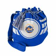 New York Mets Ripple Drawstring Bucket Bag
