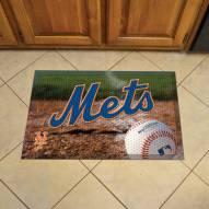 New York Mets Scraper Door Mat