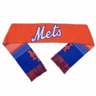 New York Mets Split Logo Reverse Scarf