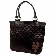 New York Mets Sport Noir Quilted Tote