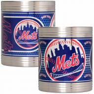 New York Mets Stainless Steel Hi-Def Coozie Set