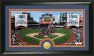 New York Mets Traditions Bronze Coin Panoramic Photo Mint