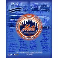 """New York Mets Tribute (50 Signatures) Ryan/Seaver """"The Franchise"""" Signed 16"""" x 20"""" Photo"""