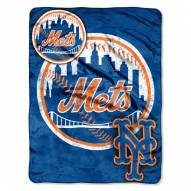 New York Mets Triple Play Throw Blanket