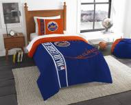 New York Mets Twin Comforter & Sham Set