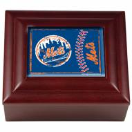 New York Mets Wood Keepsake Box