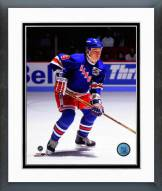 New York Rangers Adam Graves Action Framed Photo