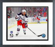 New York Rangers Brad Richards 2014 NHL Stadium Series Framed Photo