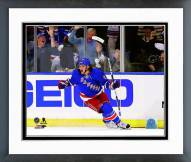 New York Rangers Carl Hagelin 2014 NHL Stanley Cup Playoffs Framed Photo