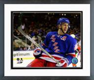 New York Rangers Derek Stepan 2014-15 Action Framed Photo