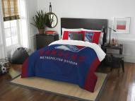New York Rangers Draft Full/Queen Comforter Set
