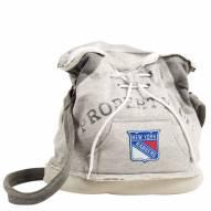 New York Rangers Hoodie Duffle