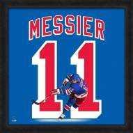 New York Rangers Mark Messier Uniframe Framed Jersey Photo