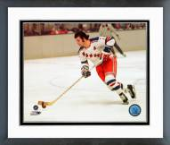 New York Rangers Rod Gilbert Action Framed Photo