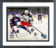 New York Rangers Ryan McDonagh 2014 NHL Stadium Series Framed Photo