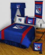 New York Rangers Sidelines Bed Comforter