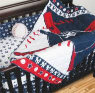 New York Yankees Baby Crib Set