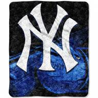 New York Yankees Big Stick Sherpa Blanket