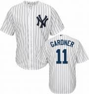 New York Yankees Brett Gardner Replica Home Baseball Jersey