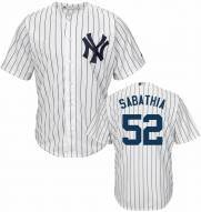 New York Yankees C.C. Sabathia Replica Home Baseball Jersey