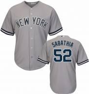 New York Yankees C.C. Sabathia Replica Road Baseball Jersey