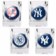 New York Yankees Collector's Shot Glass Set