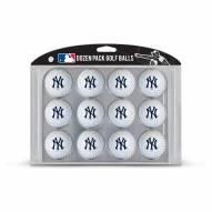 New York Yankees Dozen Golf Balls