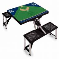 New York Yankees Folding Picnic Table