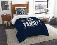 New York Yankees Grand Slam Twin Comforter Set