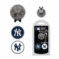 New York Yankees Hat Clip & Marker Set