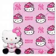 New York Yankees Hello Kitty Blanket & Pillow
