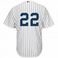 New York Yankees Jacoby Ellsbury Replica Number Only Home Baseball Jersey
