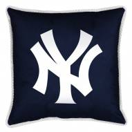 New York Yankees MLB Sidelines Toss Pillow