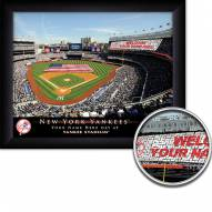 New York Yankees Personalized Framed Stadium Print
