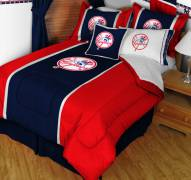 New York Yankees Top Hat Twin Bed Comforter