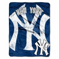 New York Yankees Triple Play Throw Blanket
