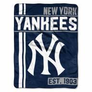 New York Yankees Walk Off Throw Blanket