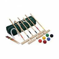 North Meadow Newport 6-Player Croquet Set