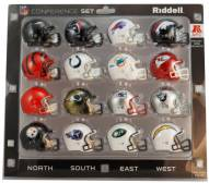 NFL AFC Conference Helmet Set