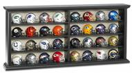 NFL Pocket Size 32-Piece Helmet Set with Wood Display