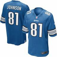 Nike NFL Detroit Lions Calvin Johnson Youth Replica Football Jersey