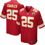 Nike NFL Kansas City Chiefs Jamaal Charles Youth Replica Football Jersey