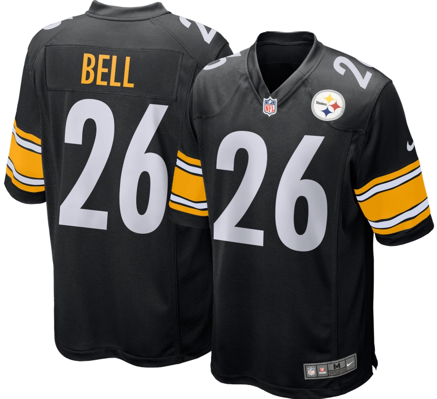 Nike NFL Pittsburgh Steelers Le'Veon Bell Youth Replica Football ...