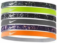 Nike Printed Headband - Assorted 6 Pack