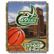 North Carolina Charlotte 49ers Home Field Advantage Throw Blanket